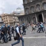 Tensioni in piazza Plebiscito