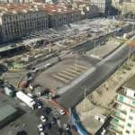 Nuovo dispoistivo traffico a piazza Garibaldi