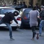 studenti, scontri con la polizia
