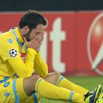 Higuain tra le lacrime a fine gara Napoli - Arsenal