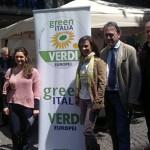 Candidati alle europeee: Ruocco, Sansone, Palladino, Bonelli, Millich
