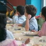 Mensa scolastica, bambini a scuola