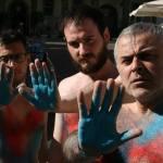 Spray sui corpi e non sui monumenti