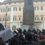 Protesta precari della Giustizia