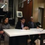 La Strage dimenticata (Da sinistra Giuliana Covella, Attilio Iannuzzo, Luigi Ferrandino)