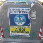fratelli d'Italia, manifesti abusivi