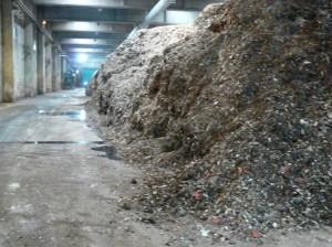 Sito di compostaggio a Scampia