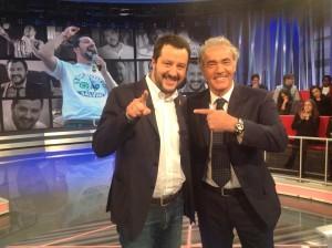 "Giletti insieme a Salvini all'""Arena"""