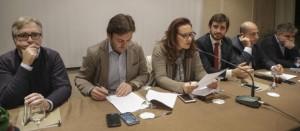 (Da sinistra Toti Lange, Vincenzo Carpentieri ed Elkisabetta Gambardella)
