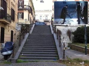 Inaugurazione scale di Troisi