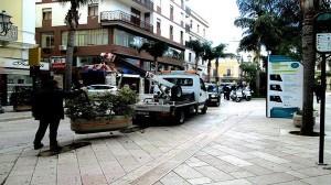 Fioriere al Corso Garibaldi