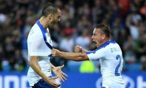 Italia Belgio, 2-0