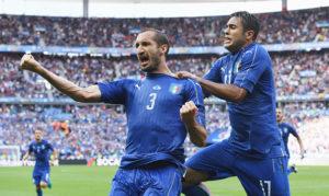 Italia - Spagna, 2-0