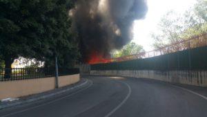 incendio Scafati