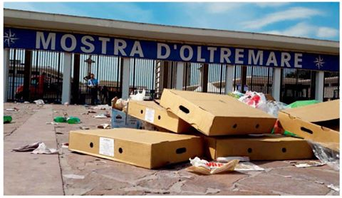 Mostra d oltremare tra i rifiuti intervenga l asia for Piscina mostra d oltremare