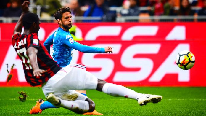Juventus e Napoli è -6